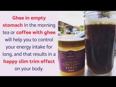 Protein in ghee: what makes this dairy product helpful in weight loss| Milkio Foods