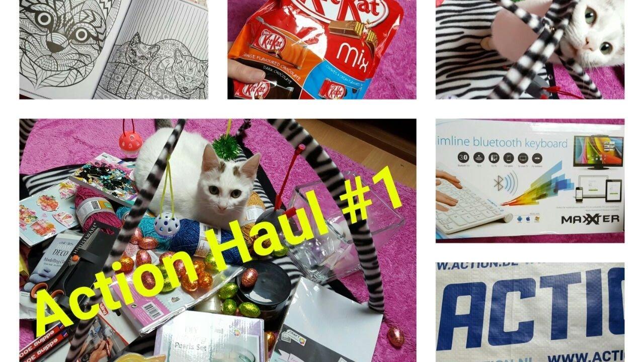 Wunderschön Collage Basteln Sammlung Von Action Haul #1   Ostern Bastelsachen Geschenke