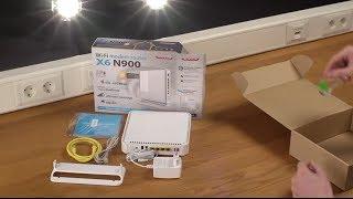 Unboxing e installazione di Sitecom WLM-6600 Wi-Fi Modem Router X6 N900 - ITALIANO