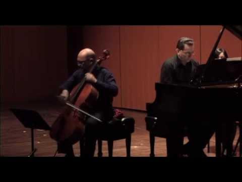 Brahms - Sonata Op.38, I movement.