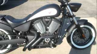 2012 Victory High Ball / Zoomies Exhaust / S&S Air Intake / LED Turn signals / Sissy Bar