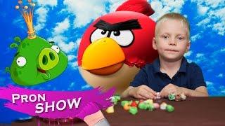 Angry Birds(Энгри бердс) или Злые птички и Прохор.