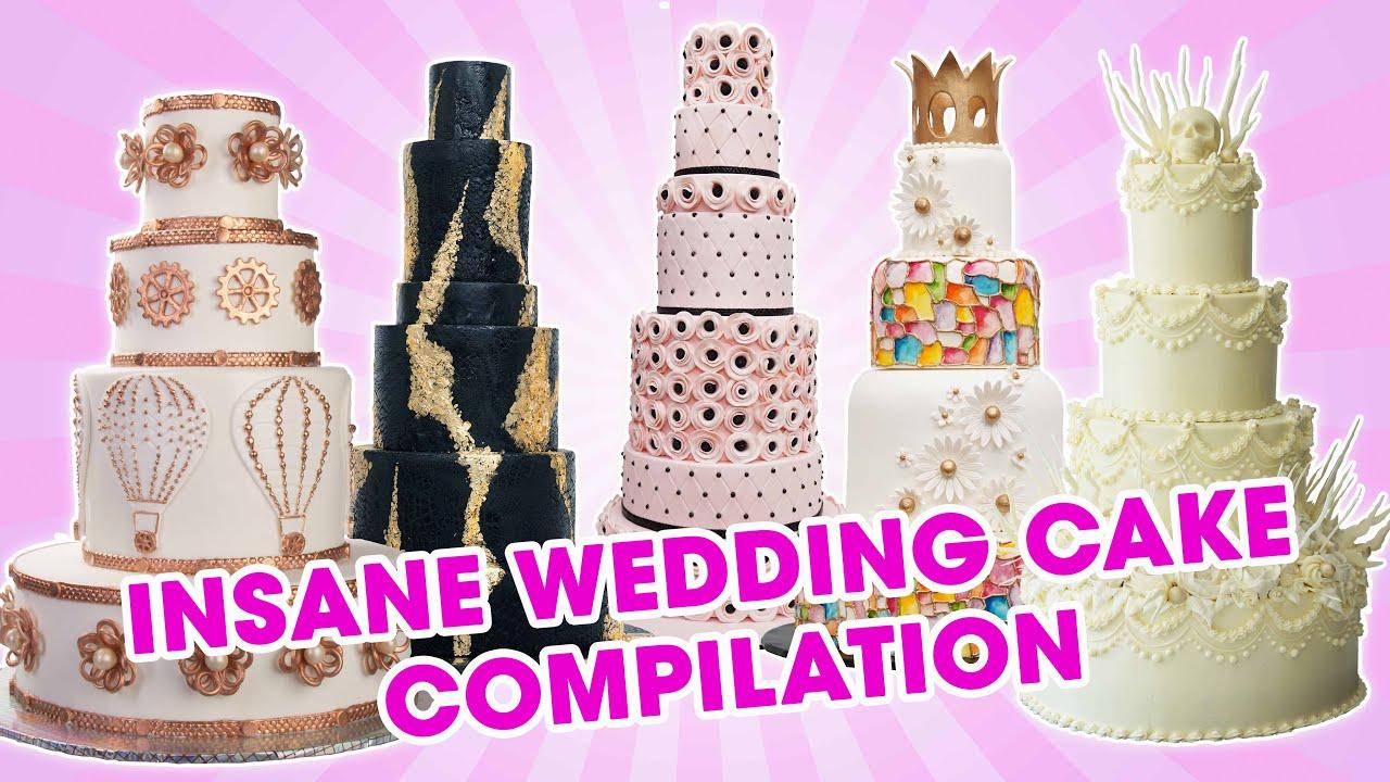 Insane Wedding Cake Compilation - YOU'VE BEEN DESSERTED