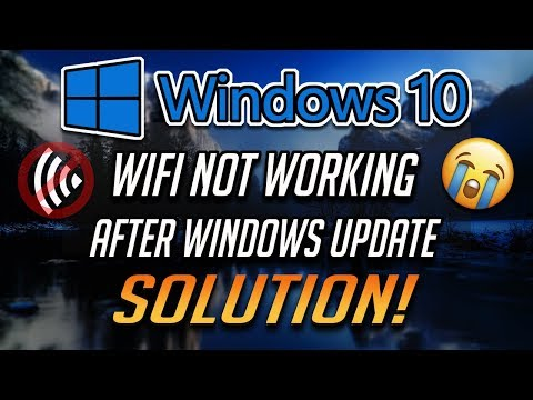 How To Fix No WiFi After Windows Update In Windows 10 - [2020]