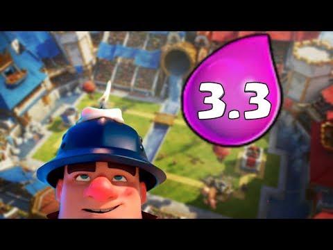 EL NUEVO MINER CONTROL DE 3.3 en Clash Royale - WithZack