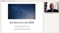 Astrologische Monatsprognose: Die Sterne im Juni 2020