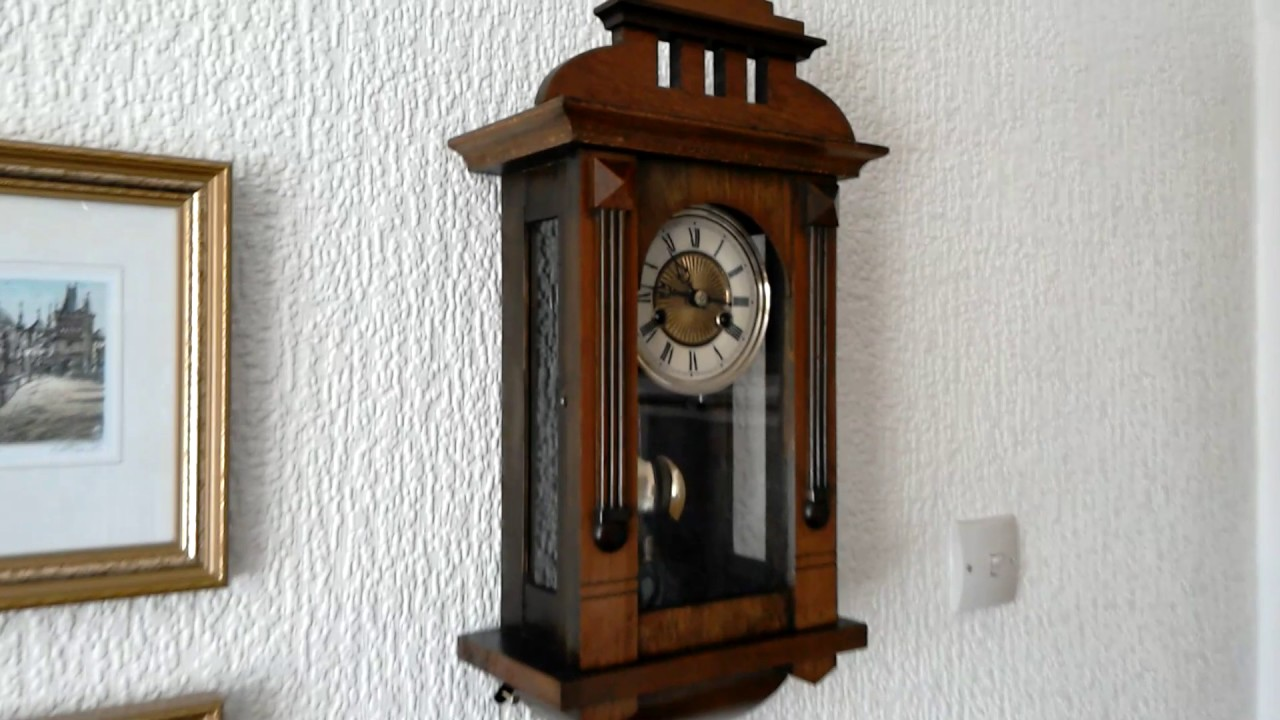 Badische uhrenfabric mini vienna wall clock youtube badische uhrenfabric mini vienna wall clock amipublicfo Choice Image