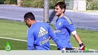 Así entrenan Iker Casillas y Keylor Navas