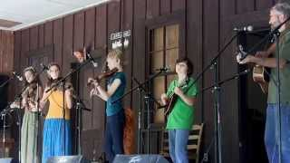 High On A Mountain- Strictly Strings, Laurel Bloomery Oldtime Fiddlers 8/23/14