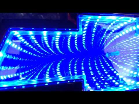 Эмблема значек Chevrolet Cruze 3D LED подсветка