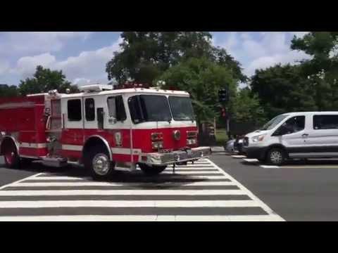Washington DC Engine responding