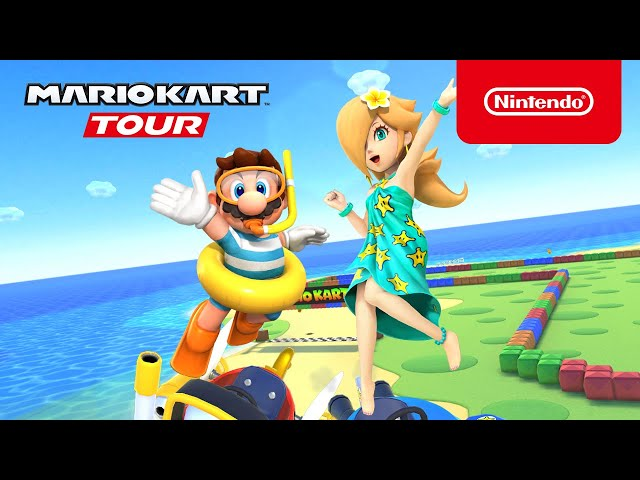 Mario Kart Tour Cools Off With Marine Tour Update