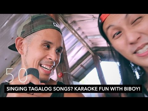 SINGING TAGALOG SONGS? KARAOKE FUN WITH BIBOY! // ILOILO DAY 1 | VLOG 50