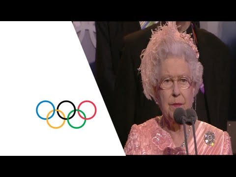 Queen Elizabeth II ly Opens The London 2012 Olympics  Opening Ceremony