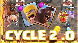 hog cycle deck 2 0 clash royale   strategies tips tricks more