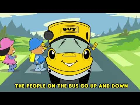 Wheels On The Bus Go Round And Round (Country Style!) | New Video | HD Version For Nursery Rhymes