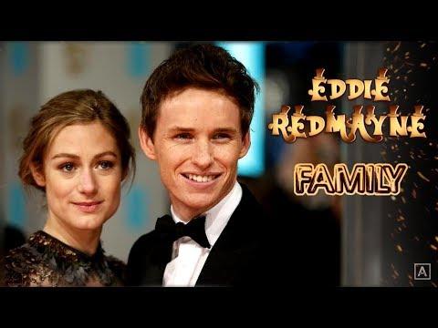 Eddie Redmayne. Famiglia (i suoi genitori, fratelli, ex-fidanzate, moglie, figlia)