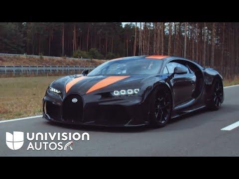 Mira cómo el Bugatti Chiron pulveriza la barrera más mítica de velocidad | Univision Autos