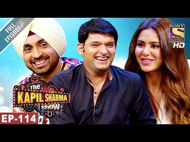 The Kapil Sharma Show - दी कपिल शर्मा शो - Ep-114 -Diljit and Sonam In Kapil's Show - 17th Jun, 2017