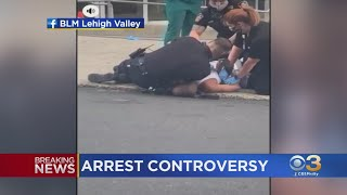Video Shows Allentown Police Officer Restraining Man With Knee