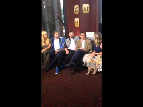 ET interview with Hannibal cast on Periscope