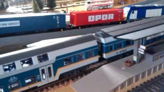 Железная дорога PIKO(BR218+ER20+BR182., 2015-02-16T05:38:48.000Z)