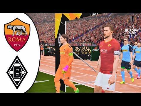 As Roma Vs Borussia Monchengladbach Uefa Europa League
