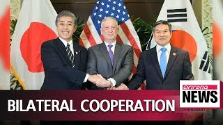 Defense chiefs of S. Korea and U.S vow to coordinate on denuclearization