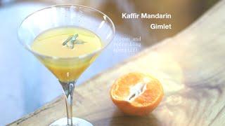 How To Make The Best Mandarin And Kaffir Lime Leaf Cocktail