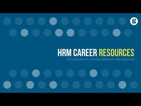 HRM Career Resources