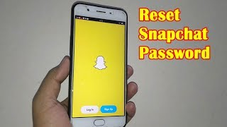 How to Reset Snapchat Password Without Email 2019 On Mobile | Mobile App