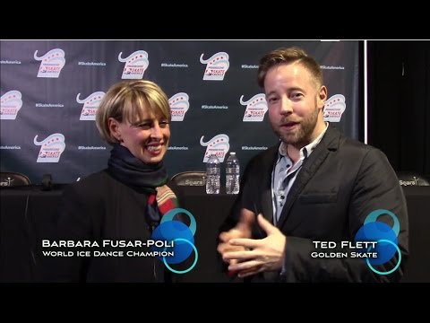 2016 Golden Skate interview with Barbara Fusar-Poli (Pt. 1 o