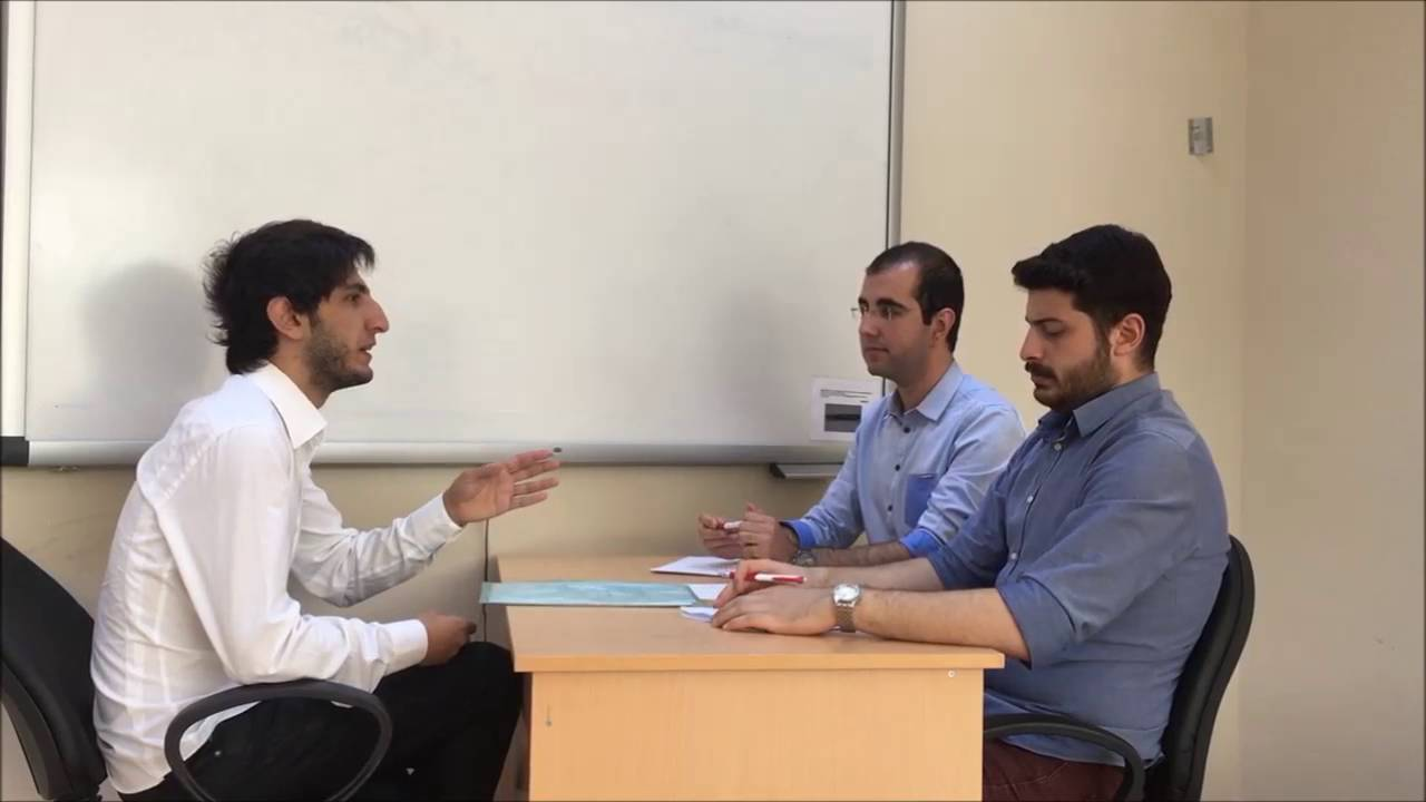 'Job Interview' Homework for Business Communication Lesson