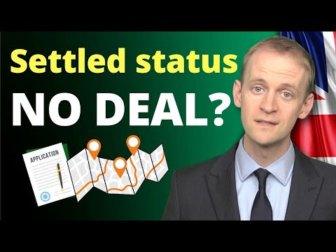Do You Need To Apply For Settled Status If There Is A No Deal Brexit?