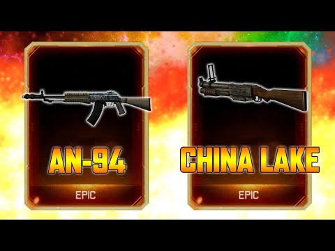 NEW SUPPLY DROP OPENING - AN-94 & CHINA LAKE REMASTERED IN B