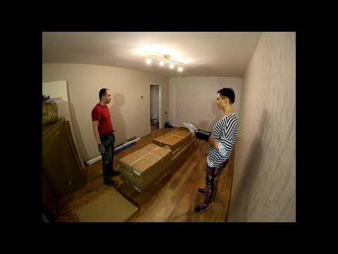 Квартира #7-9. Начинаем собирать мебель.