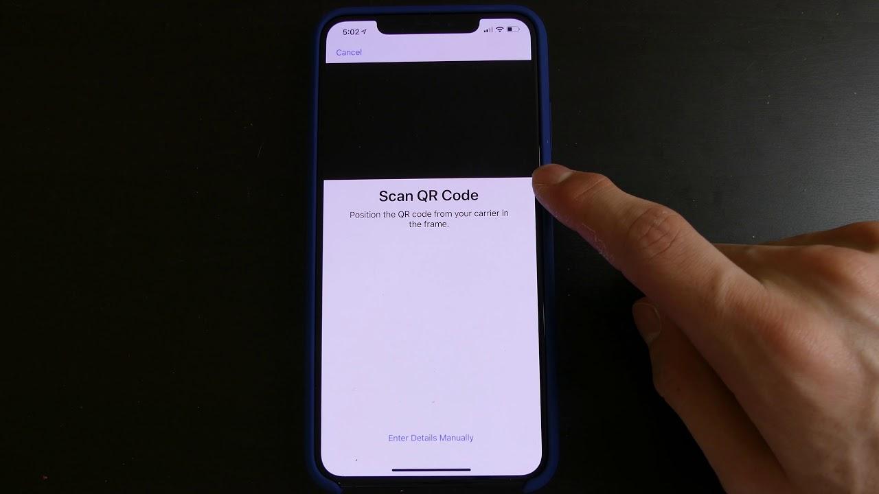 iOS 12 1 Beta 1 - eSIM on iPhone XS and XS Max