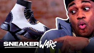 Custom Balenciaga Speed Trainer Challenge: Prom Night | MTV Sneaker Wars