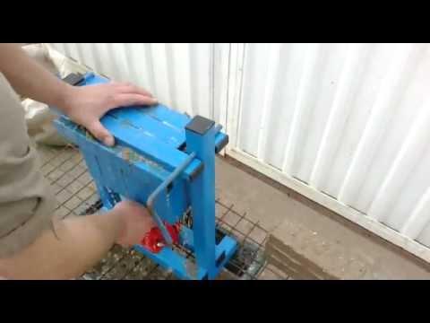 Pressa autocostruita per tronchetti di cartone e legno for Costruire pressa idraulica