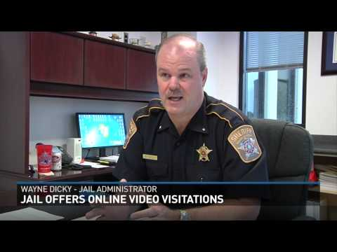 Brazos County Detention Center Offers Online Video Visitations