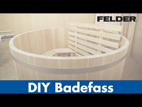 Diy Badefass Aus Holz Produzieren Mit Felder