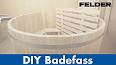 Hot Tub - Badehaus mit Holz Heizung selber bauen - YouTube
