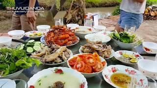 0755 Về Vĩnh Long Ăn Cơm Giữa Ruộng Đồng Bao La l Hotgirl Hàn Quốc thọc dừa