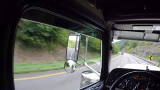 We almost DIE and KILL the four wheelers going down Fancy Gap( Vlog # 72 )