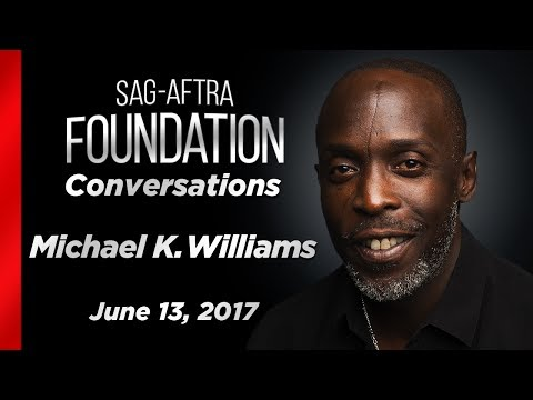 Conversations with Michael K. Williams