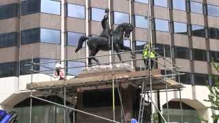 Return of the Prince Consort Statue