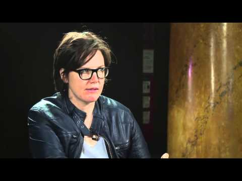 Backstage with Hannah Gadsby at the Melbourne International Comedy Festival Gala 2012