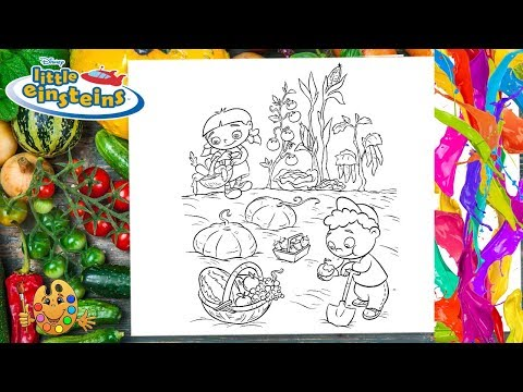 Little Einsteins : Annie And Quincy | Coloring Pages For Kids | Coloring Book |