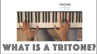 what is a tritone? tritone explained in 2 minutes
