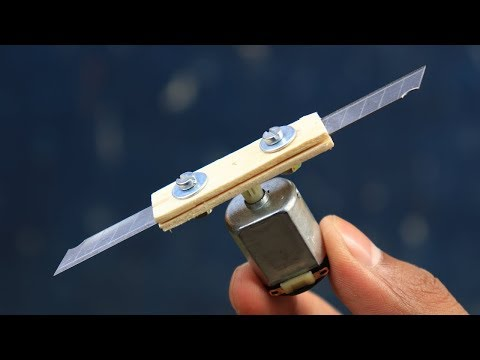 2 Awesome DIY ideas with DC Motor